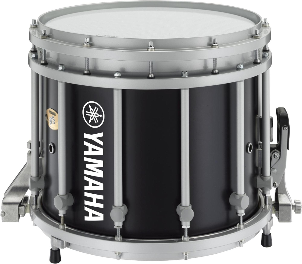 yamaha sfz marching snare drum 14x12 inch black forest with standard hardware ebay. Black Bedroom Furniture Sets. Home Design Ideas