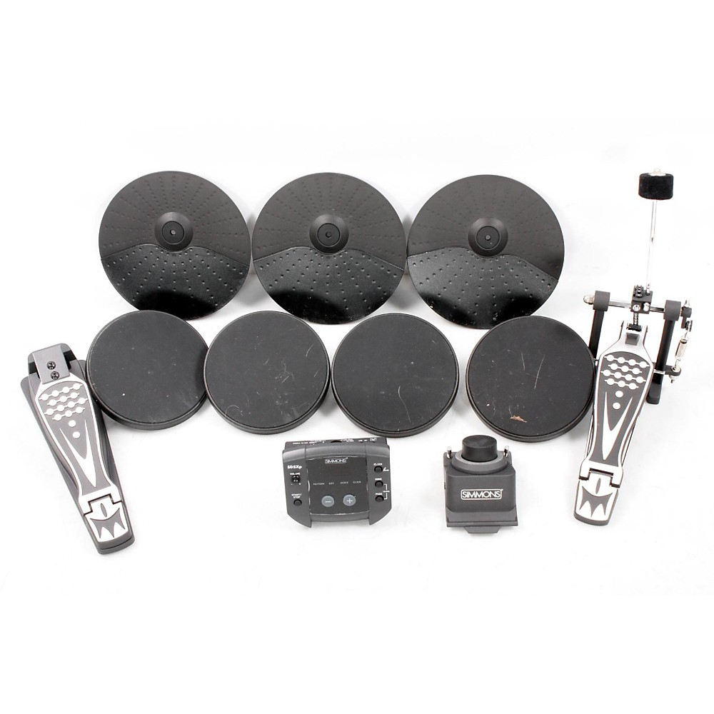 simmons sd5xpress full size 5 piece electronic drum kit 888365344010 ebay. Black Bedroom Furniture Sets. Home Design Ideas