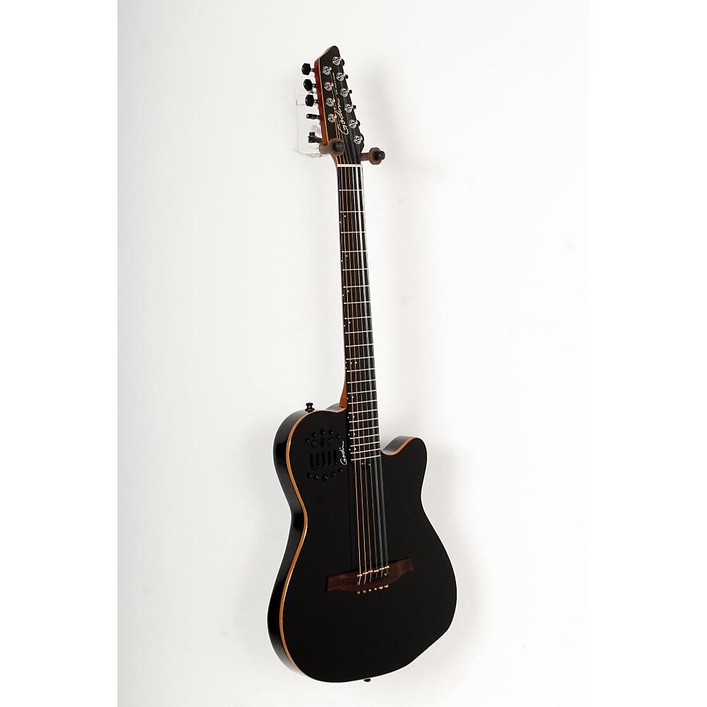 godin a10 10 string acoustic electric guitar black 888365770024 ebay. Black Bedroom Furniture Sets. Home Design Ideas