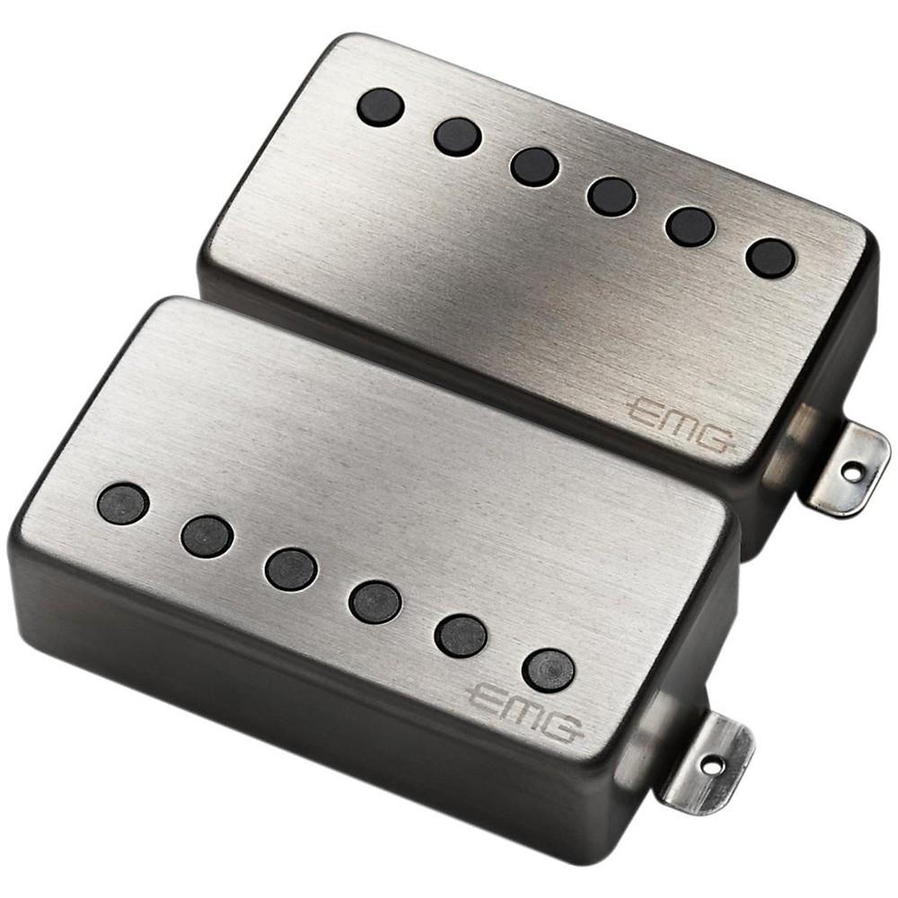 Emg Pickups Upc Barcode 81 85 Humbucker Active Set Black Electric Guitar 654330214851
