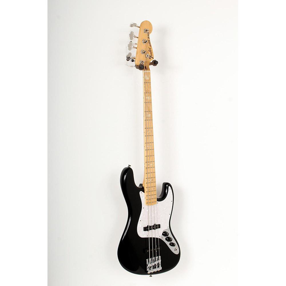 fender usa geddy lee signature jazz bass black maple neck 888365761039 ebay. Black Bedroom Furniture Sets. Home Design Ideas