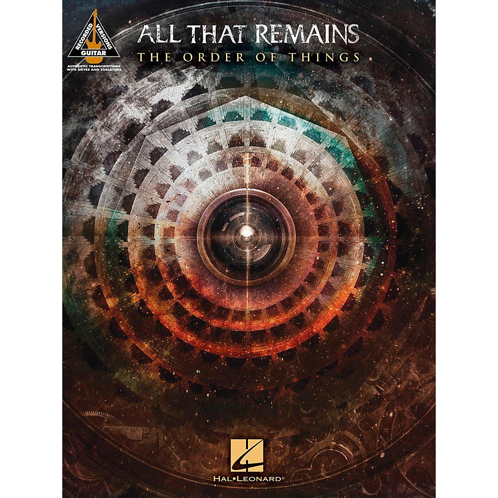 Hal Leonard All That Remains The Order Of Things Guitar Tab Songbook