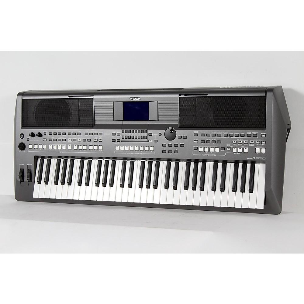 yamaha psr s670 61 key arranger workstation regular. Black Bedroom Furniture Sets. Home Design Ideas