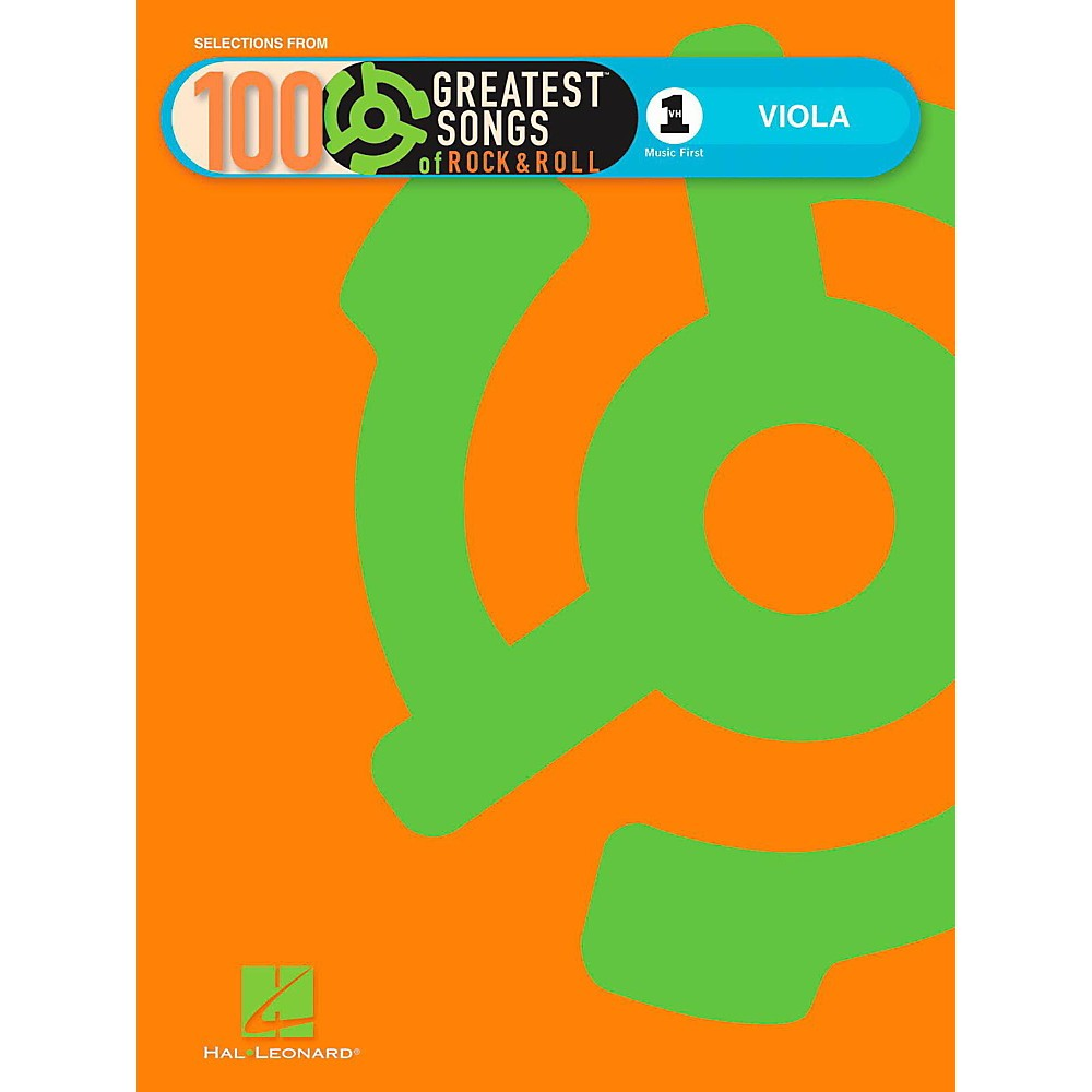 Hal Leonard VH1`s 100 Greatest Songs Of Rock And Roll Viola (Book Only)