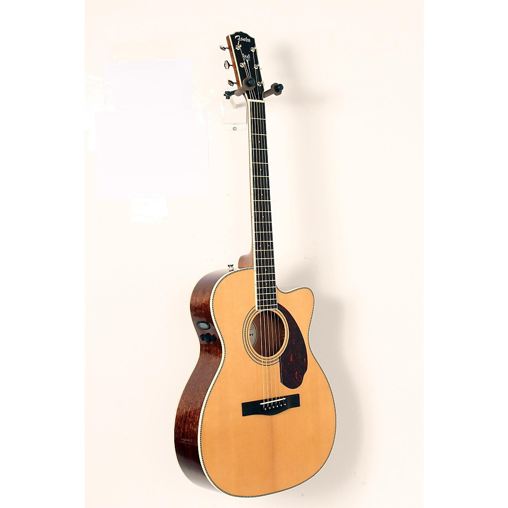 fender paramount series pm 3 000 acoustic electric guitar natural 888365929033 ebay. Black Bedroom Furniture Sets. Home Design Ideas