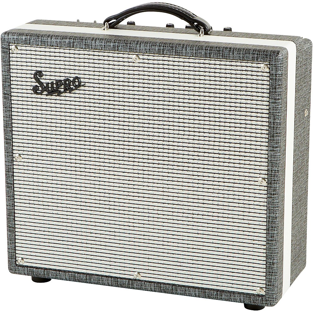 supro black magick tube guitar combo amp ebay. Black Bedroom Furniture Sets. Home Design Ideas