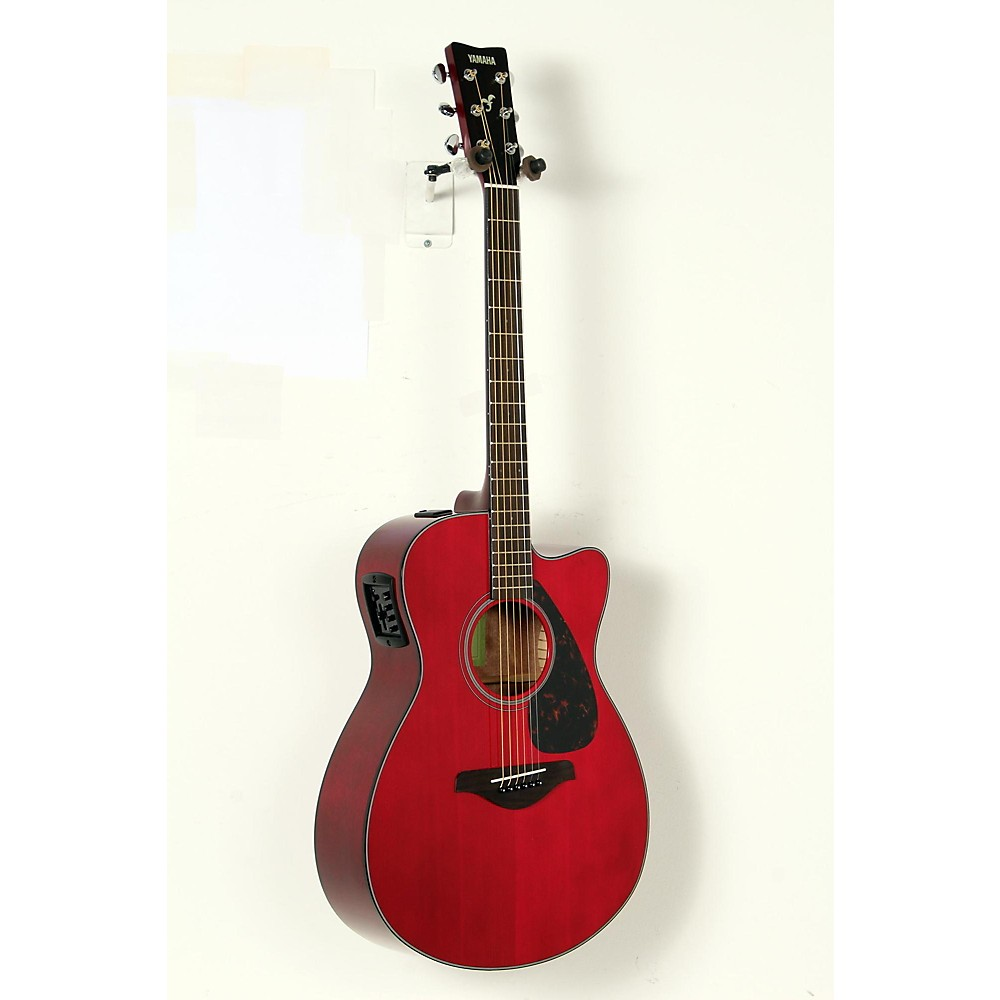 yamaha fsx800c small body acoustic electric guitar ruby red 888365978024. Black Bedroom Furniture Sets. Home Design Ideas