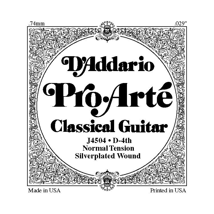 D'AddarioJ45 D-4 Pro-Arte Composites Normal Single Classical Guitar String