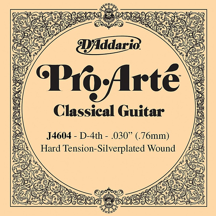 D'AddarioJ46 D-4 Pro-Arte SP Hard Single Classical Guitar String
