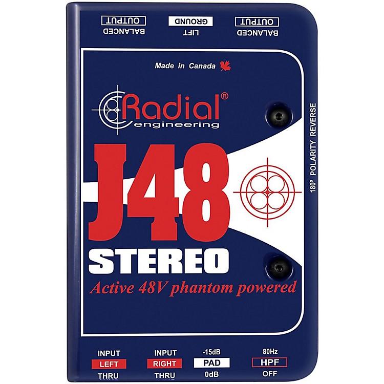 Radial EngineeringJ48 Stereo Active Direct Box