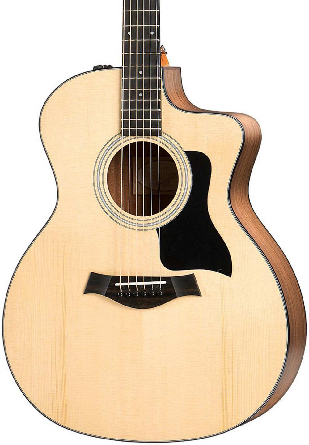 taylor 100 series 2017 114ce grand auditorium acoustic electric guitar natural. Black Bedroom Furniture Sets. Home Design Ideas