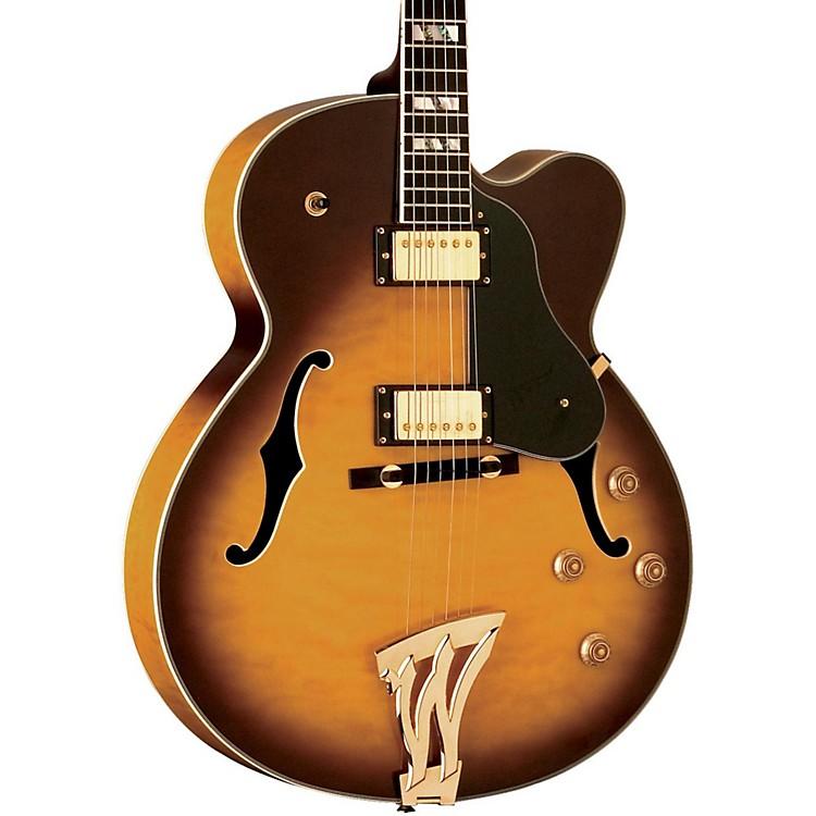 WashburnJ5 Jazz Venetian Cutaway Electric GuitarSunburst