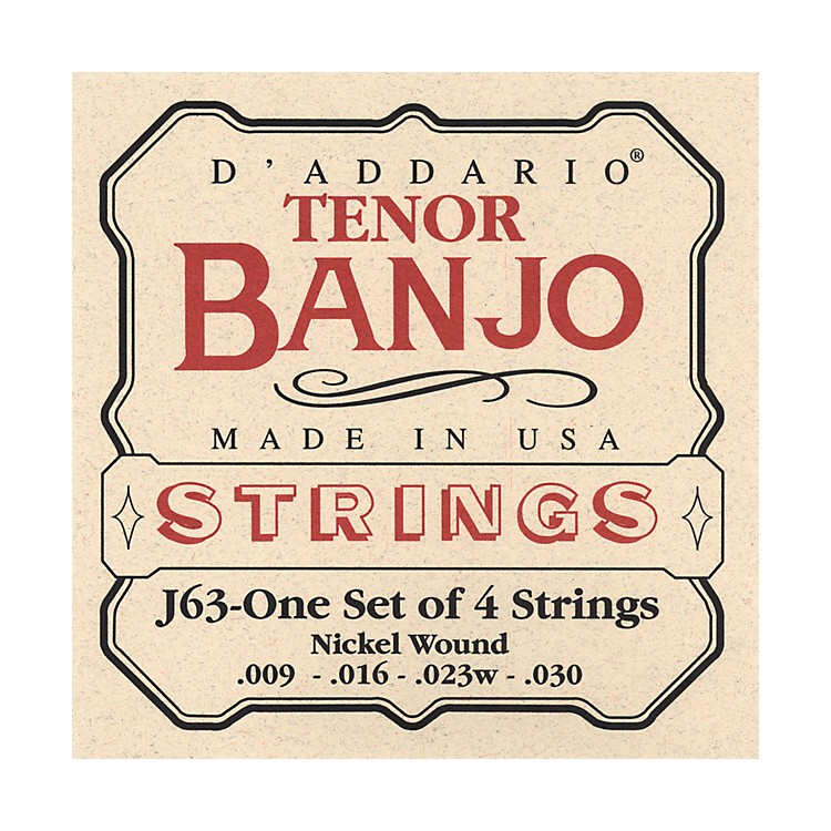 D'Addario J63 Tenor Banjo Strings