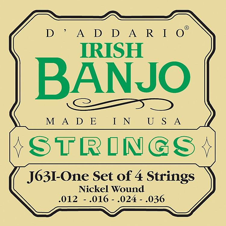 D'AddarioJ63i 4-String Irish Banjo Strings