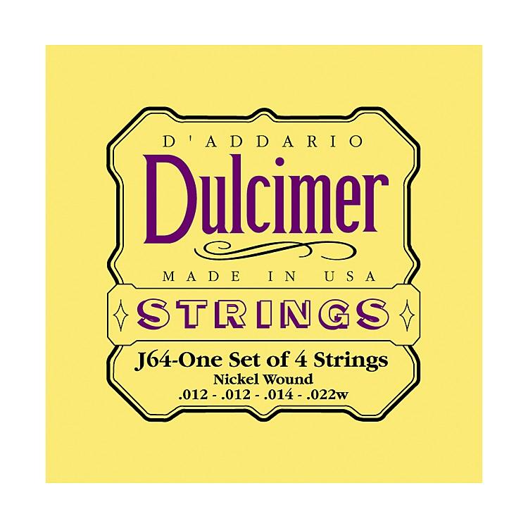 D'AddarioJ64 Dulcimer 4-String Set