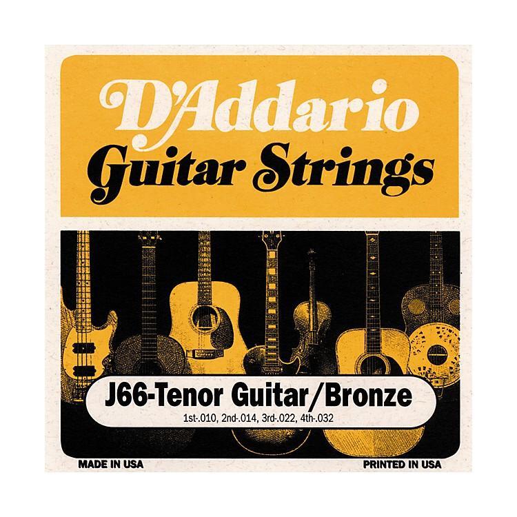 D'AddarioJ66 80/20 Tenor Guitar Strings