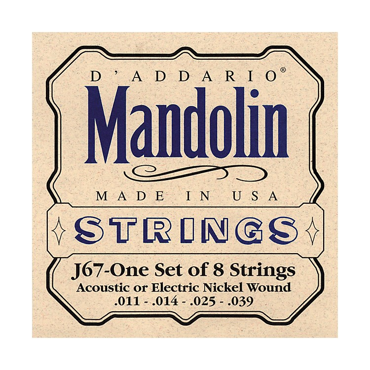 D'Addario J67 Nickel Mandolin Strings