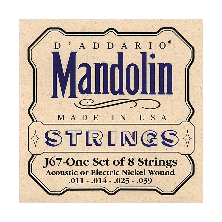 D'AddarioJ67 Nickel Mandolin Strings