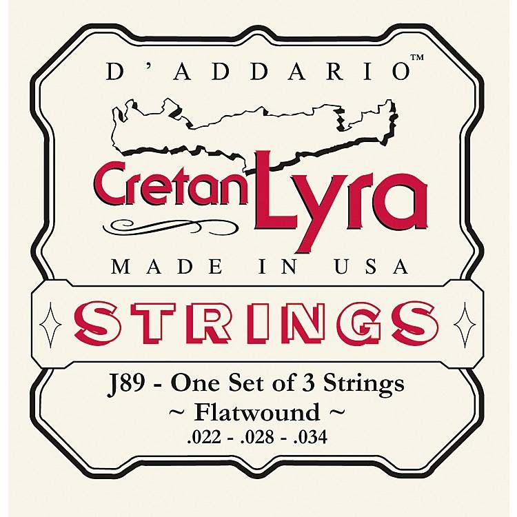 D'AddarioJ89 Flat Wound Cretan Lyra Strings