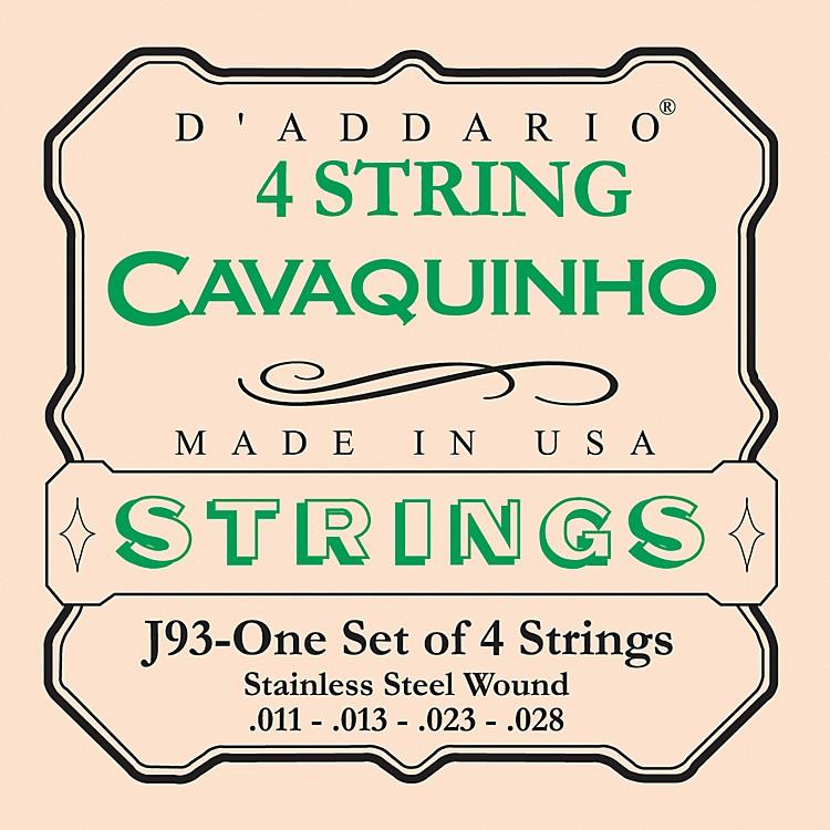 D'AddarioJ93 Cavaquinho Stainless String Set