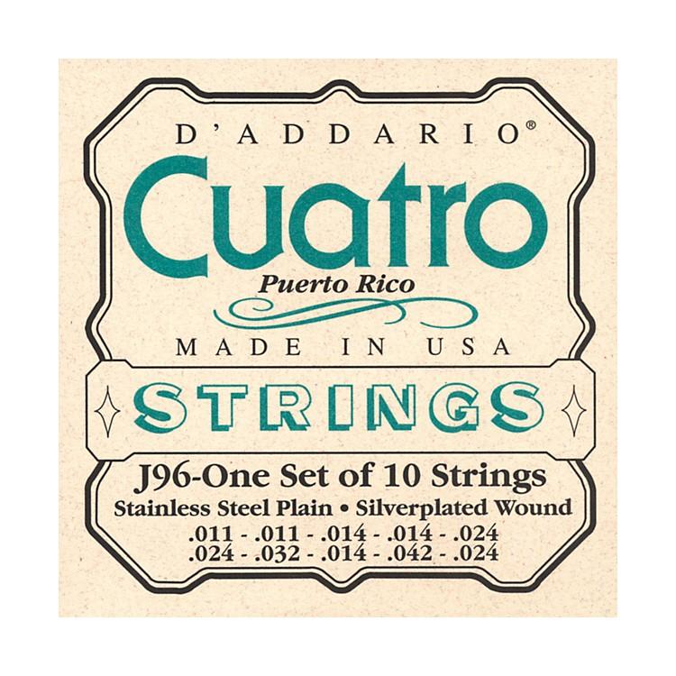 D'AddarioJ96 Cuatro Puerto Rico String Set
