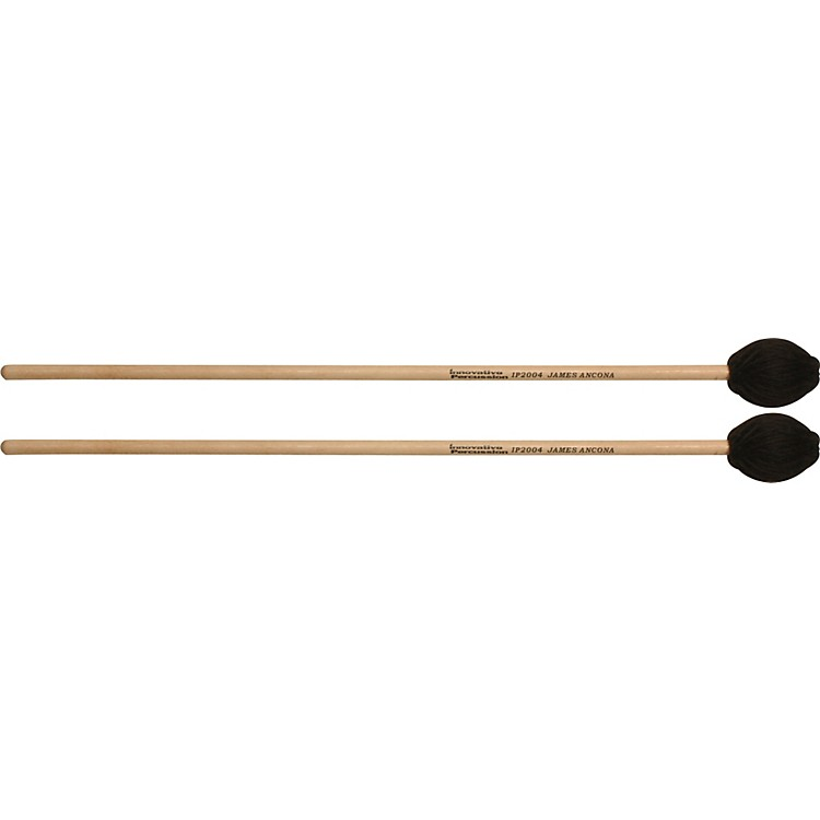 Innovative Percussion JAMES ANCONA SERIES EXTRA SOFT MARIMBA Birch Handle IP2004 Hard Yarn Marimba