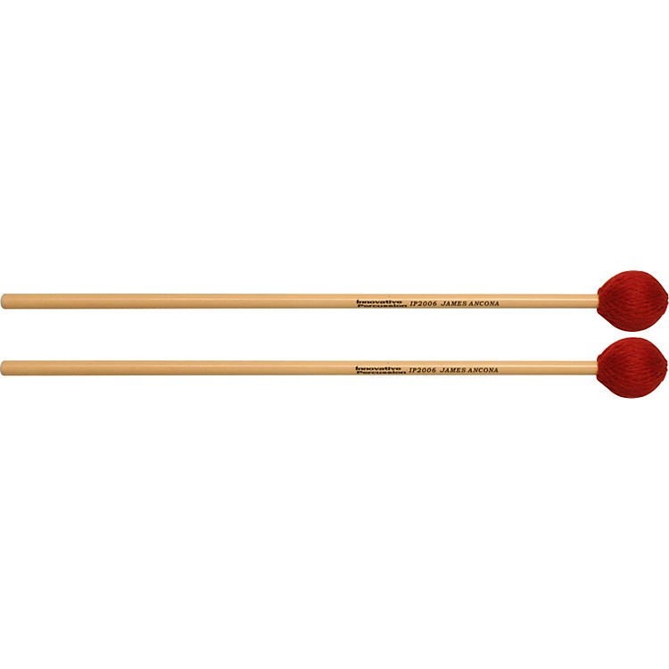 Innovative Percussion JAMES ANCONA SERIES EXTRA SOFT MARIMBA Rattan Handle IP2006 Medium Hard Cord Vibe/Marimba