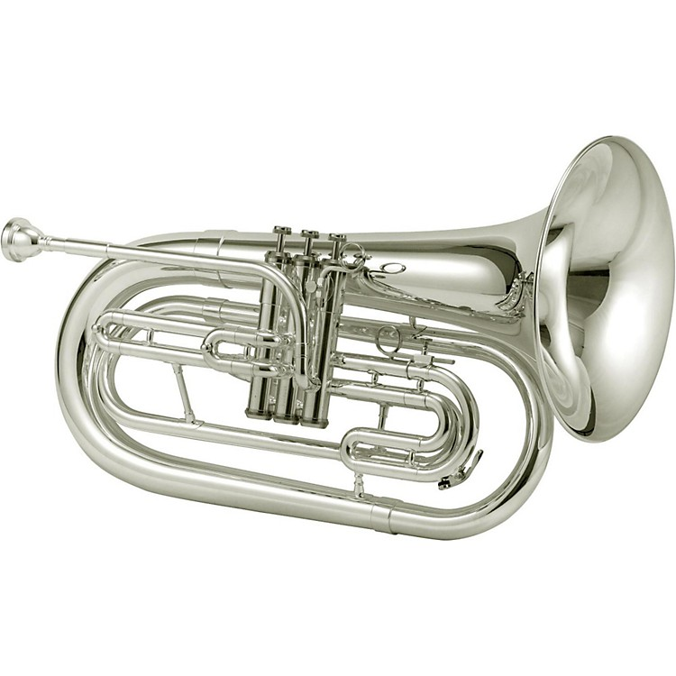 Jupiter JBR1000M Qualifier Series Bb Marching Baritone Silver