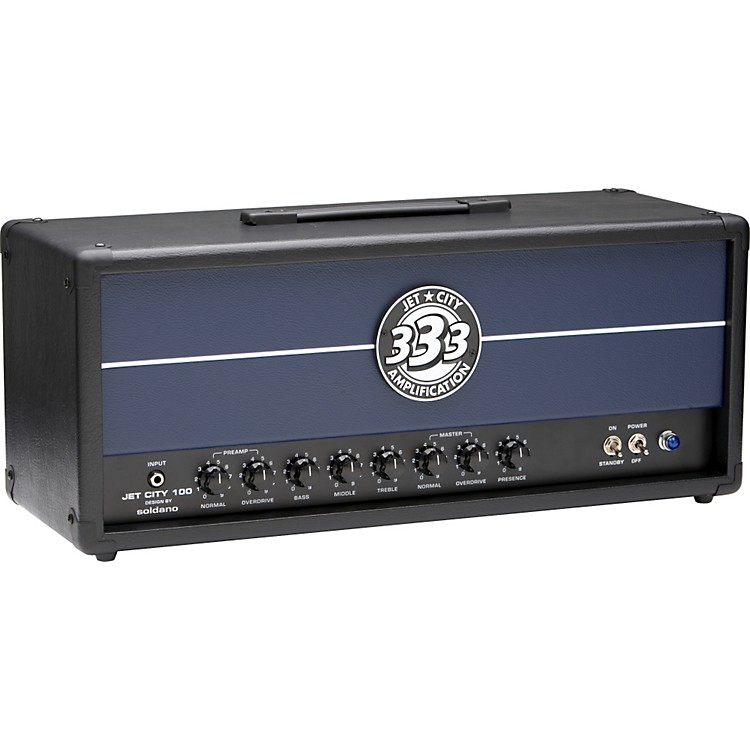 Jet City Amplification JCA Series JCA100H 100W Tube Guitar Amp Head