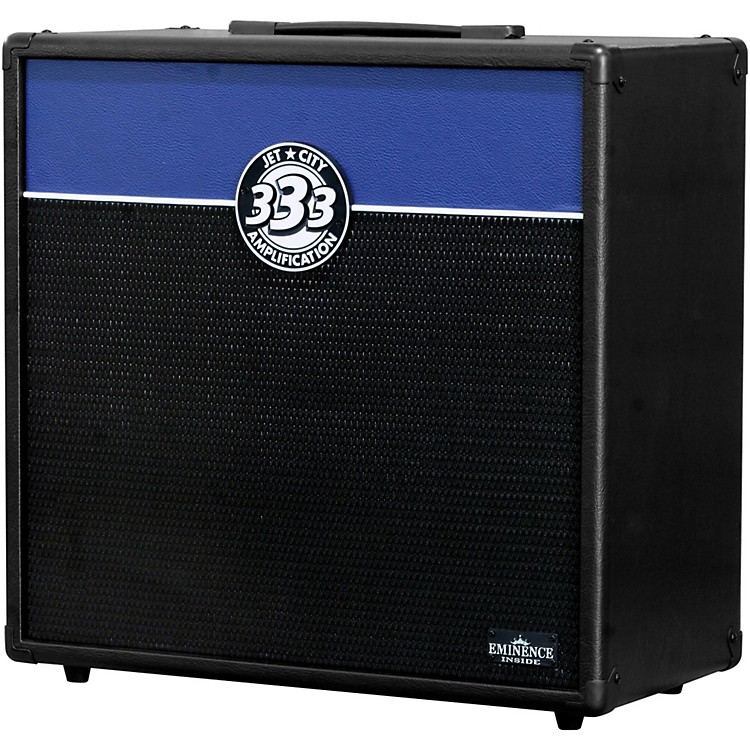 Jet City Amplification JCA12S 1x12 Guitar Speaker Cabinet Black/Blue Slant