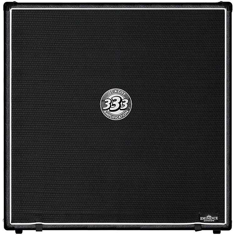 Jet City AmplificationJCA48S 4x12 Guitar Speaker Cabinet 400WBlackStraight