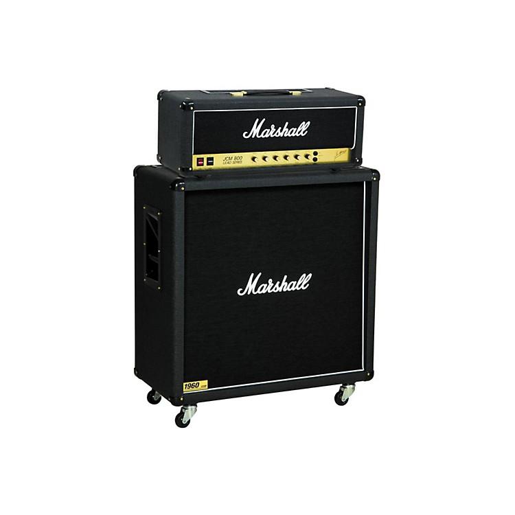 MarshallJCM800 2203 Vintage Series 100W Guitar Tube Head with 1960B 300W 4x12 CabinetStraight