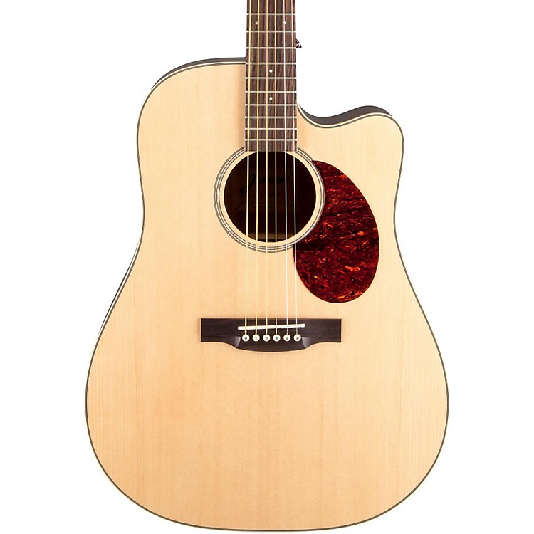 Jasmine JD-37 Dreadnought Acoustic-Electric Guitar Natural