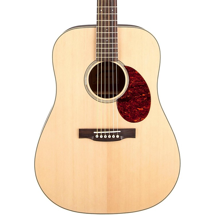 Jasmine JD-37 Solid Top Dreadnought Acoustic Guitar Natural