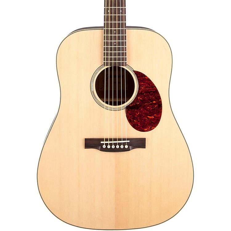 JasmineJD-37 Solid Top Dreadnought Acoustic GuitarNatural