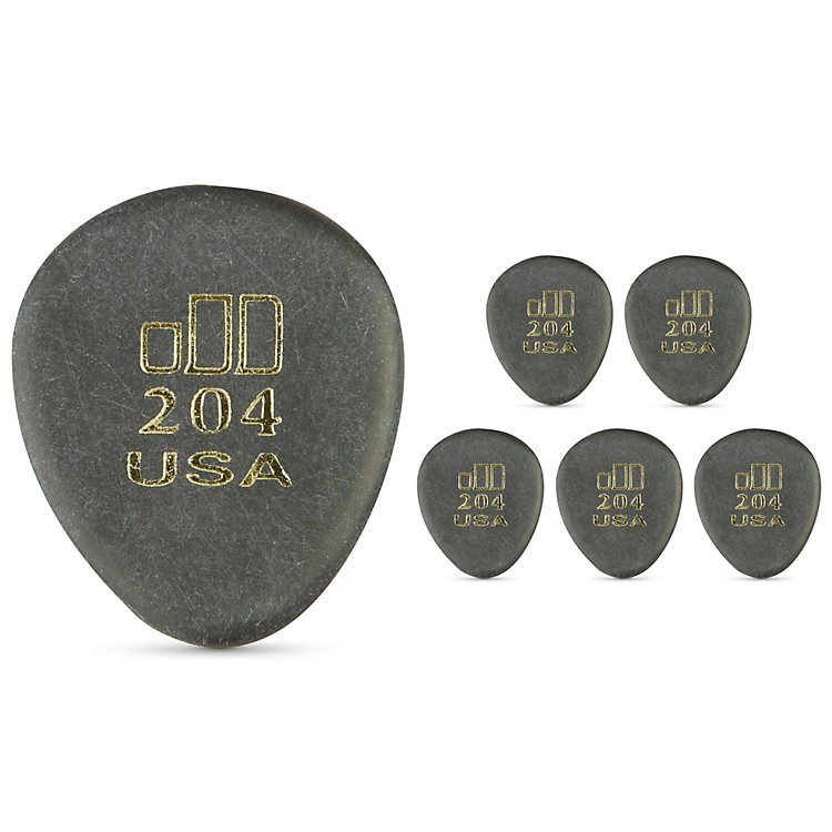 Dunlop JD JazzTone 204 Guitar Picks 6-Pack
