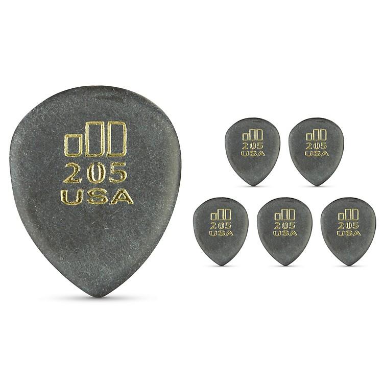 DunlopJD JazzTone 205 Guitar Picks 6-Pack