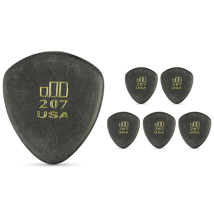 Dunlop JD JazzTone 207 Guitar Picks 6-Pack