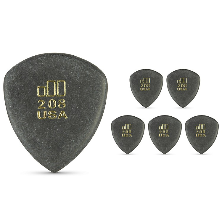 Dunlop JD JazzTone 208 Guitar Picks 6-Pack