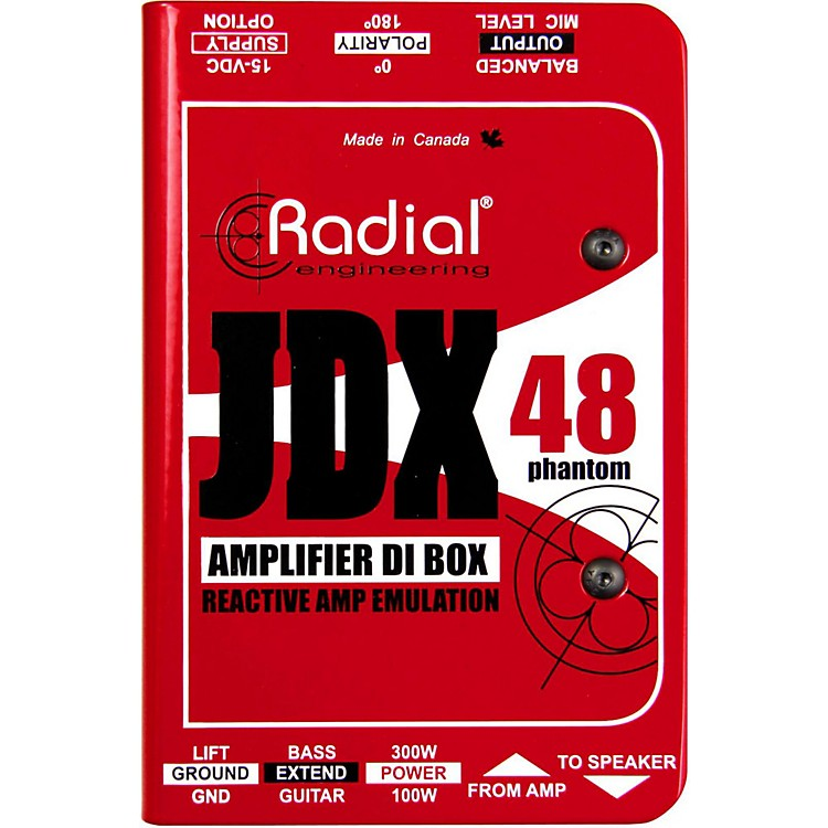 Radial EngineeringJDX-48 Reactor Guitar Amp Direct Box