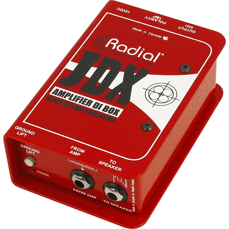 Radial EngineeringJDX Reactor Guitar Amp and Cabinet Direct Box