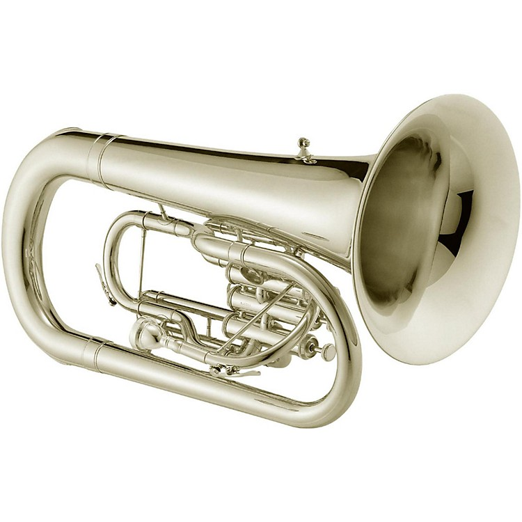 Jupiter JEP1000M Qualifier Series Convertible Marching Euphonium Silver plated