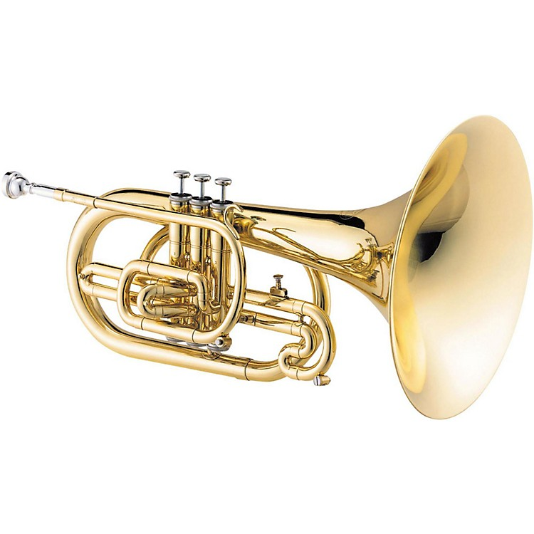 Jupiter JMP1000M Qualifier Series F Marching Mellophone Lacquer