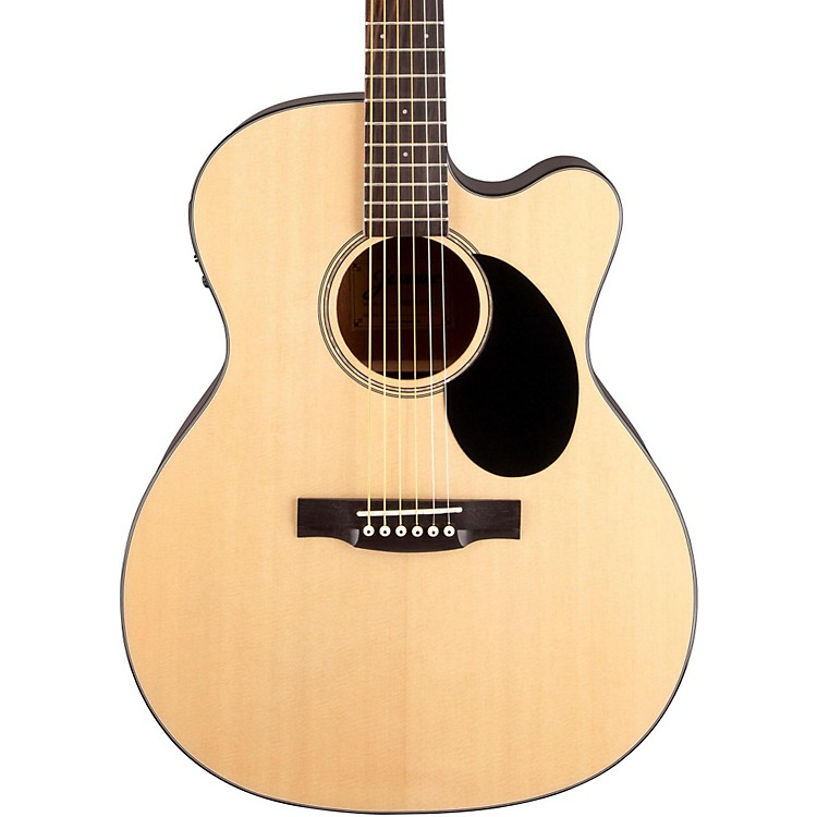 Jasmine JO-36CE Cutaway Orchestra Acoustic Electric Guitar Natural