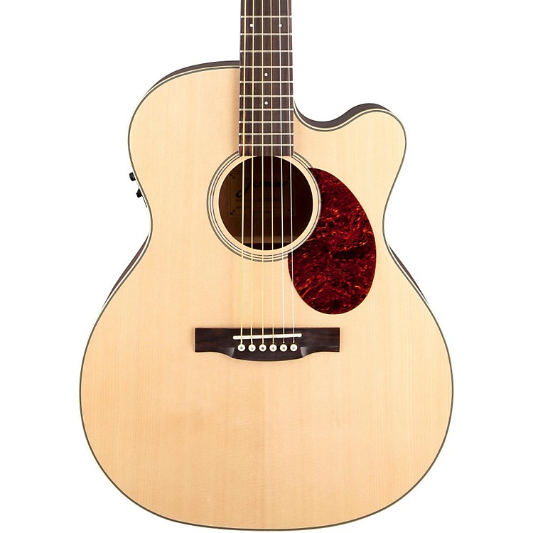 Jasmine JO-37CE Orchestra Acoustic-Electric Guitar Natural