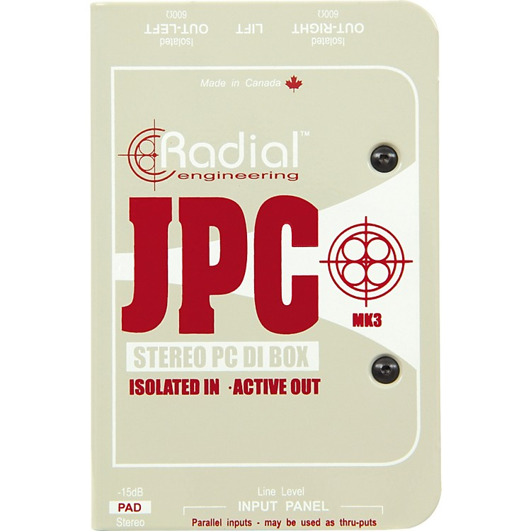 Radial Engineering JPC Stereo PC DI Box