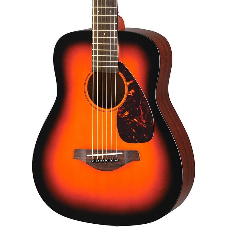 Yamaha jr2s 3 4 dreadnought acoustic guitar music123 for Yamaha guitar brands