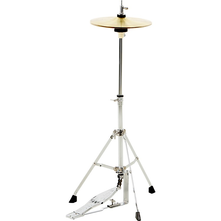 CB Percussion JRX07C Mini Hi Hat Stand with cymbals