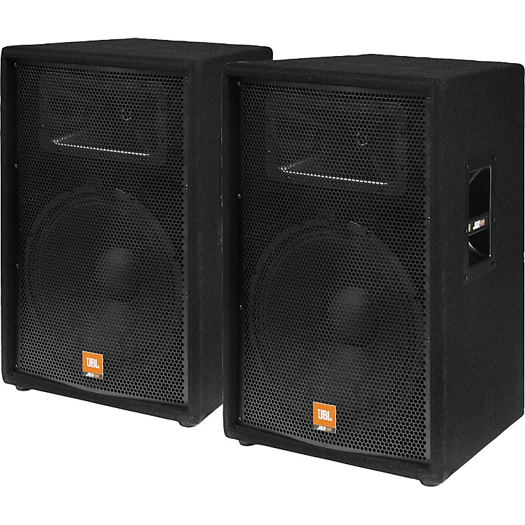 "JBL JRX115 15"""" 2-Way Speaker Cabinet - Pair 