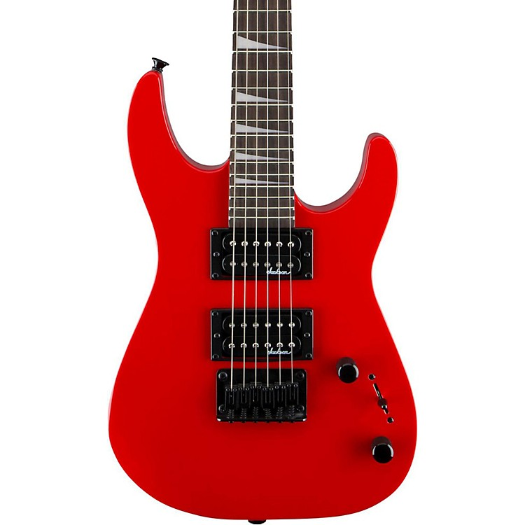 JacksonJS 1X Dinky Minion Electric GuitarFerrari Red